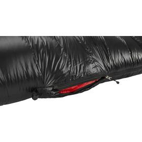 Y by Nordisk V.I.B 800 Sleeping Bag L, negro/rojo